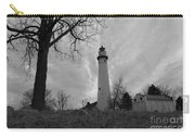 Overcast Lighthouse Carry-all Pouch