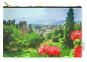 Overlooking Granada Carry-all Pouch