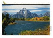 Oxbow Bend In Autumn Carry-all Pouch by Greg Norrell
