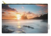 Pacific Sunset At Olympic National Park Carry-all Pouch