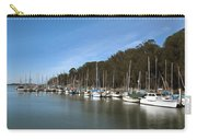 Painting Bay Side Harbor Carry-all Pouch