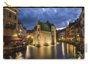 Palais De L'isle And Thiou River In Annecy Carry-all Pouch