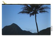 Palm And Blue Sky Carry-all Pouch