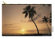 Palm At Sunset Carry-all Pouch