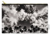 Palms Blowing In The Wind Carry-all Pouch