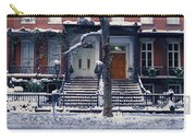 Panoramic View Of Historic Homes Carry-all Pouch