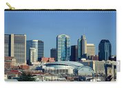 Panoramic View Of Nashville, Tennessee Carry-all Pouch