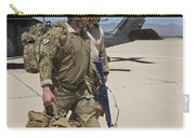 Pararescuemen Walks Away From A Hh-60g Carry-all Pouch