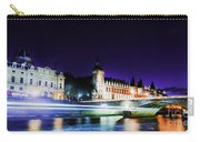 Paris At Night 15 Art  Carry-all Pouch