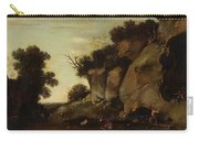 Pastoral Scene At The Cave Carry-all Pouch