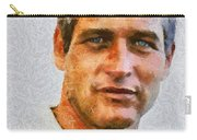 Paul Newman, Vintage Hollywood Actor Carry-all Pouch
