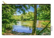 Peaceful On The River Carry-all Pouch
