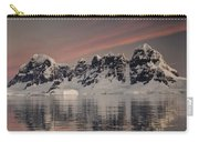 Peaks At Sunset Wiencke Island Carry-all Pouch