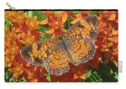Pearly Crescentspot Butterfly Carry-all Pouch