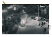 People At Night From Arerial View Carry-all Pouch