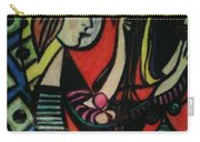 Picasso's Girl Beside A Mirror Carry-all Pouch