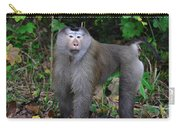 Pig-tailed Macaque Carry-all Pouch