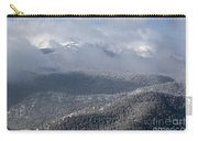 Pikes Peak In Snow Carry-all Pouch