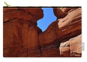 Pikes Peak Through Natural Window Carry-all Pouch