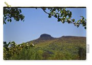 Pilot Mountain In Spring Green Carry-all Pouch