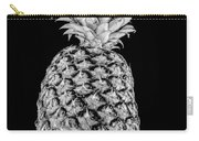 Pineapple Isolated On Black Carry-all Pouch