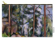 Pines And Rocks Carry-all Pouch