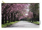 Pink Blooming Trees Carry-all Pouch