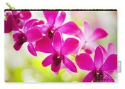 Pink Orchid Lei Carry-all Pouch