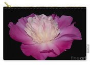 Pink Peony Petals Carry-all Pouch
