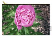 Pink Peony Print Carry-all Pouch