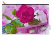 Pink Rose 5 Carry-all Pouch