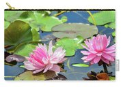 Pink Water Lily Series Carry-all Pouch