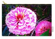 Pink Zinnia's Carry-all Pouch