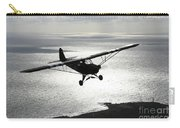 Piper L-4 Cub In Us Army D-day Colors Carry-all Pouch