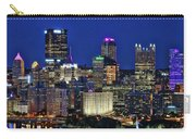 Pittsburgh Night Skyline Carry-all Pouch