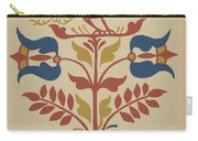 """Plate 4: From Portfolio """"folk Art Of Rural Pennsylvania"""" Carry-all Pouch"""