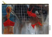 Playing Volley Carry-all Pouch
