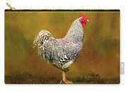 Plymouth Rock Rooster Carry-all Pouch