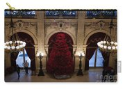 Poinsettia Christmas Tree The Breakers Carry-all Pouch