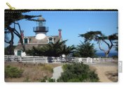 Point Pinos Lighthouse In Pacific Grove, California Carry-all Pouch