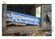 Pol Pot Mobile Khmer Rouge Radio Station Anlong Veng Cambodia Carry-all Pouch