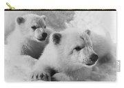 Polar Bear Cubs Carry-all Pouch