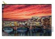 Ponte Vecchio Bridge Carry-all Pouch