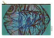 Pop Art - New Tropical Fish Poster Carry-all Pouch