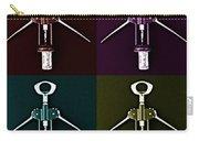 Pop Art Style Corkscrews. Carry-all Pouch