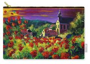 Poppies In Foy Carry-all Pouch