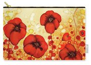 Poppin' Poppies #1 Carry-all Pouch