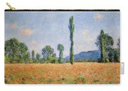 Poppy Field In Giverny  Carry-all Pouch