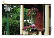 Porch With Hanging Plants Carry-all Pouch