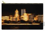 Portland Oregon Skyline  Carry-all Pouch by Aaron Berg
